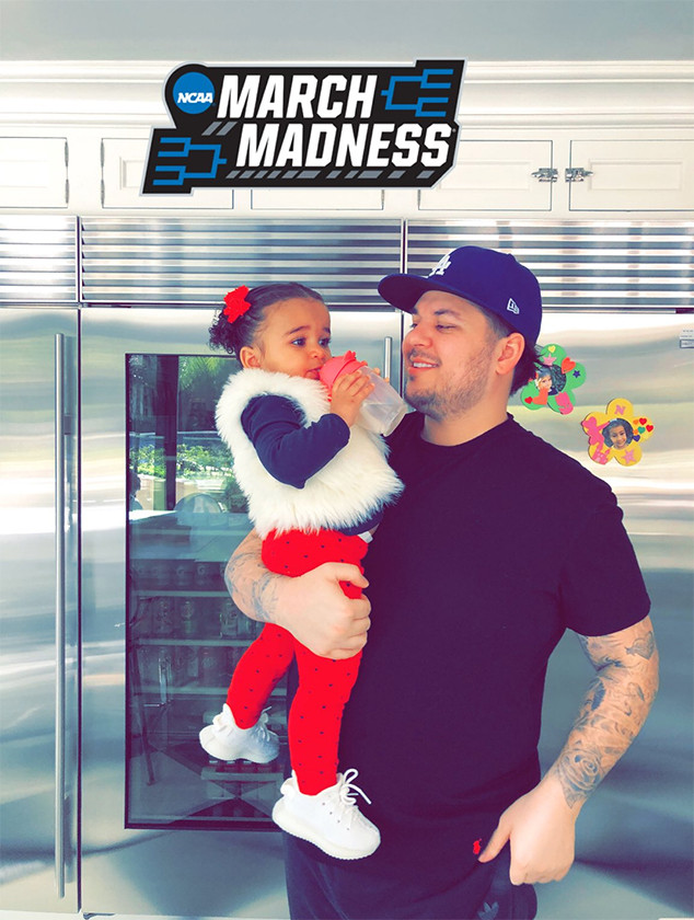 Rob Kardashian, Dream Kardashian, St. Patrick's Day 2018