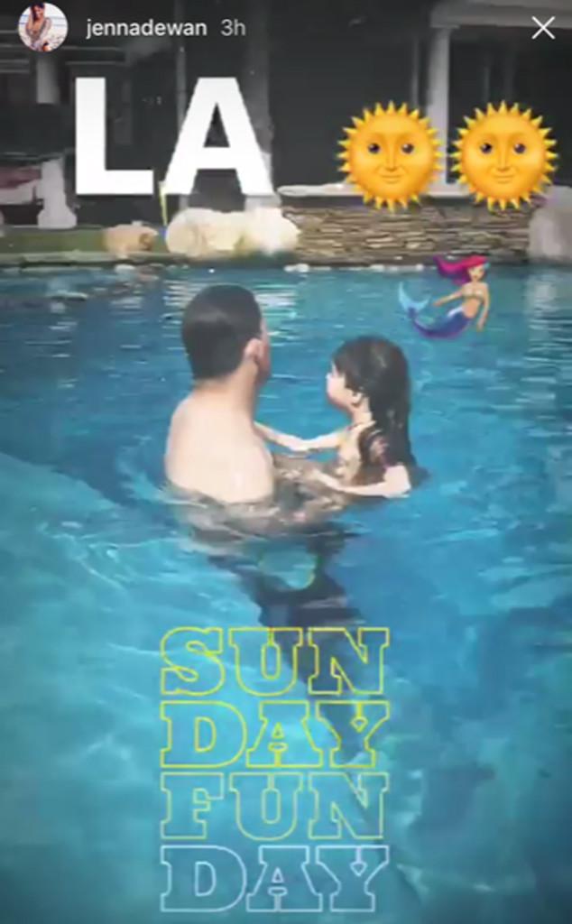 Channing Tatum, Jenna Dewan, Instagram