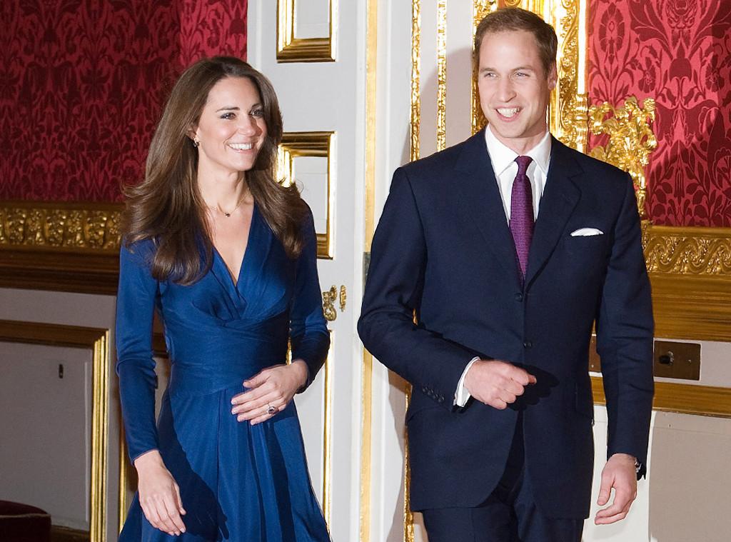 ESC: Kate Middleton, Issa Engagement Dress, Original