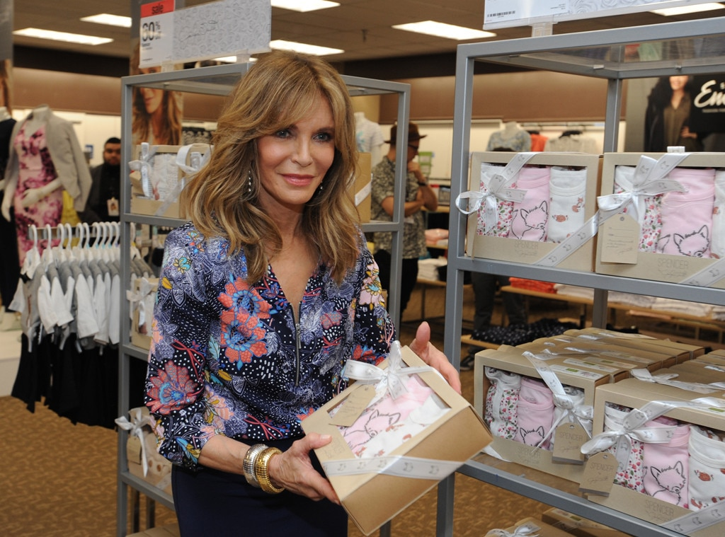 Jaclyn Smith -  The fashion designer celebrates her new fashion line at Sears with a fan meet-and-greet.