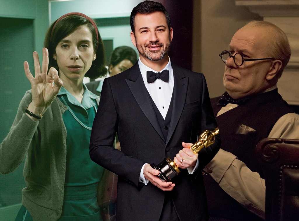 Oscars, Shape of Water, Darkest Hour