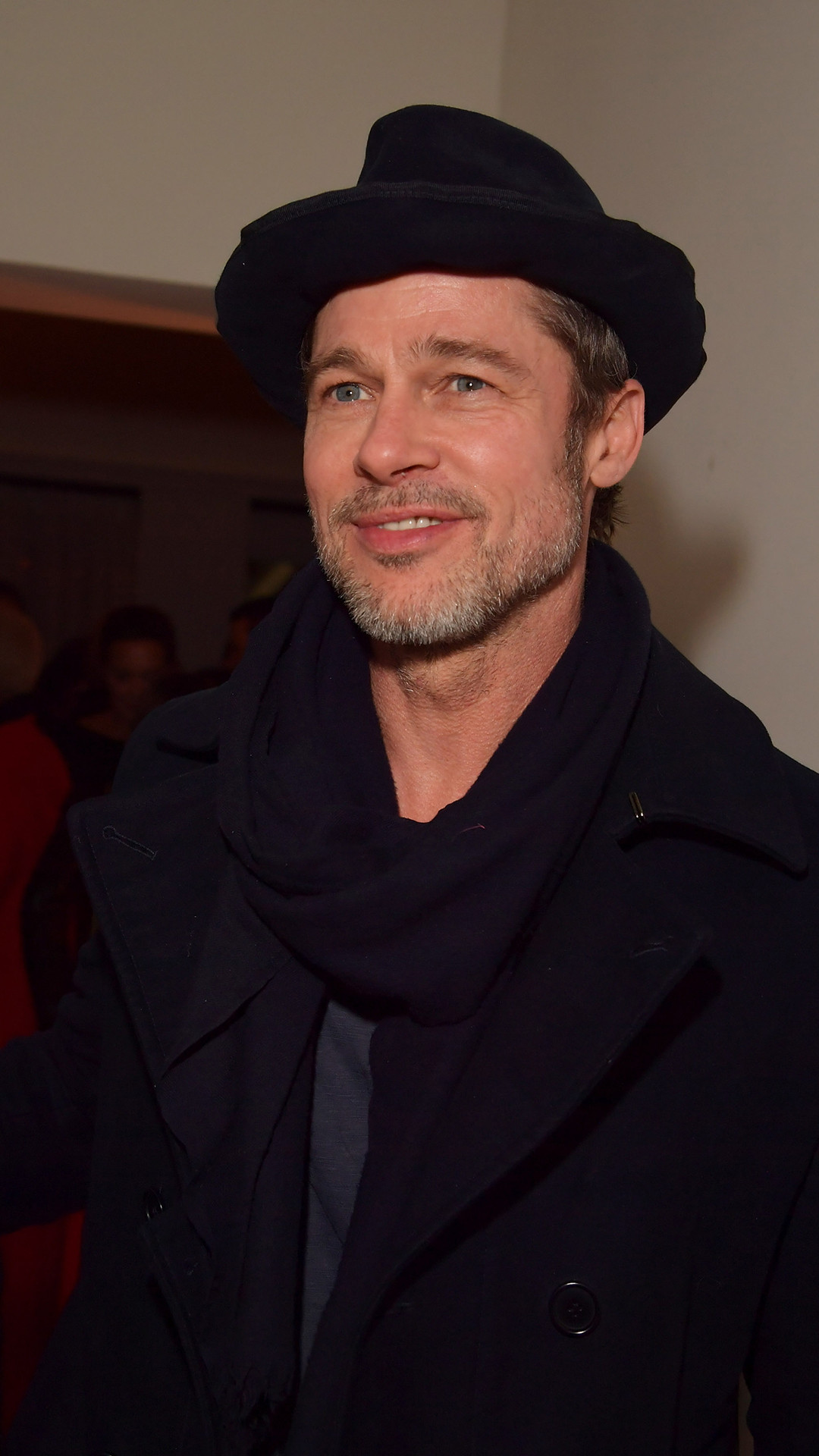 Brad Pitt, Pre-2018 Oscars Party, Gersh Agency