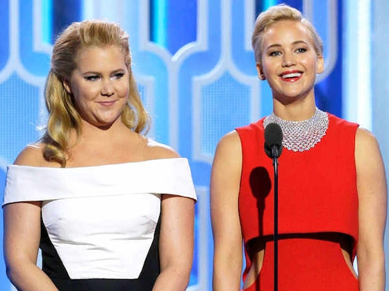 Jennifer Lawrence Hilariously Proves She's Still Adjusting to Amy Schumer's Life as a New Mom