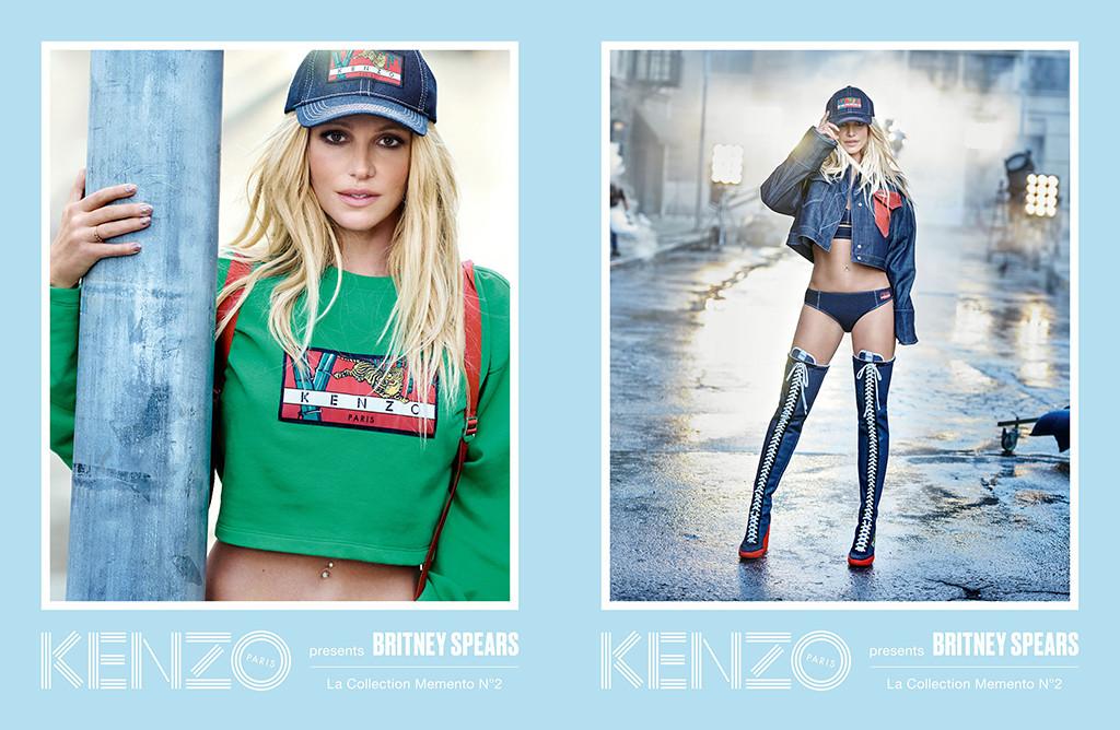 Britney Spears, Kenzo