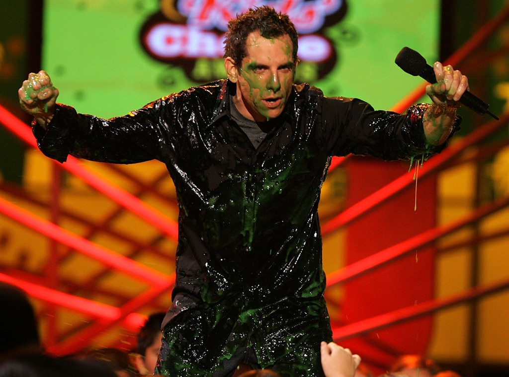 Ben Stiller -  Back in 2005, the funny man got the slime treatment.