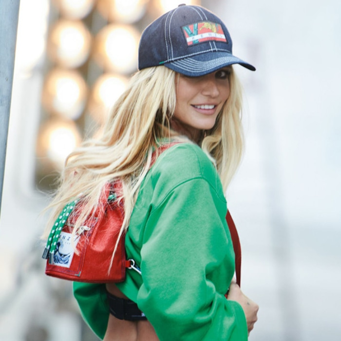 d41ecbcdc4c Britney Spears Unveiled as the New Face of Kenzo