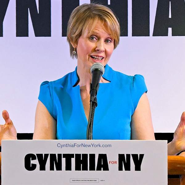 Sex and the City star Cynthia Nixon splits NY  voters