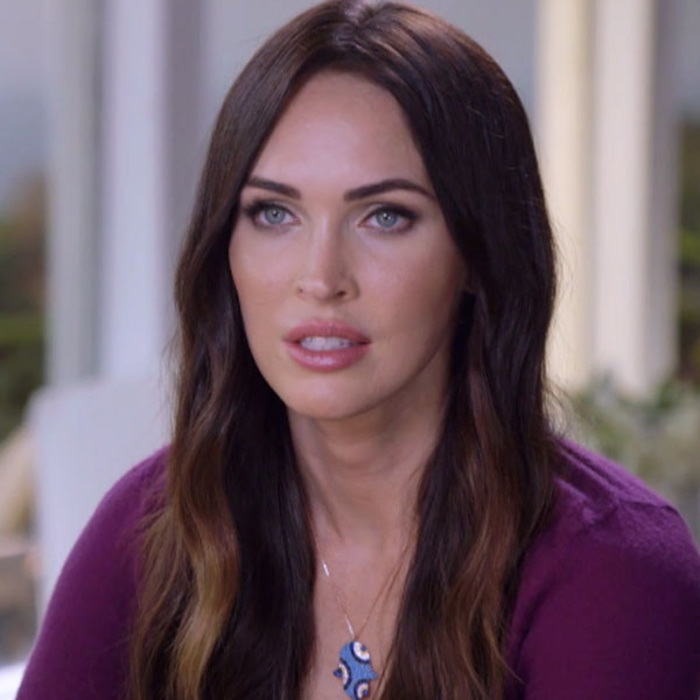 megan fox gets an emotional message about picking up the pieces of