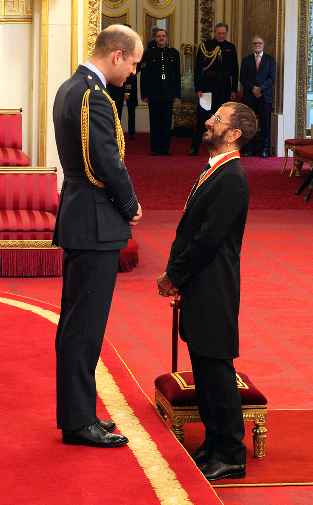 Prince William, Sir Ringo Starr