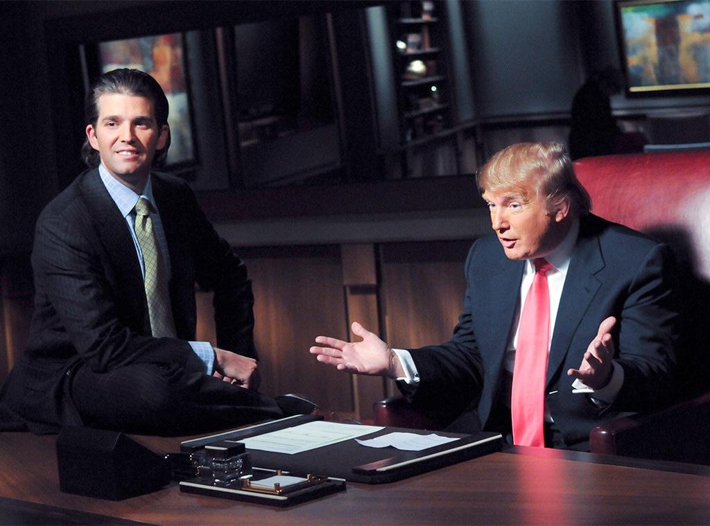 Donald Trump, Donald Trump, Jr., The Apprentice