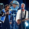 Queen Elizabeth, Shaggy, Sting, 2018 Grammy Awards, Performances