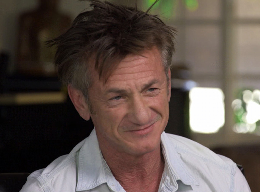 Sean Penn, CBS Sunday Morning