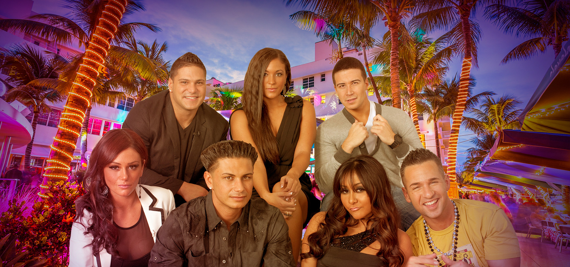 Jersey Shore Cast, Miami Nightlife, Hotspots