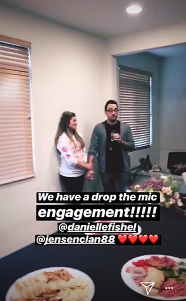 Danielle Fishel, Jensen Karp