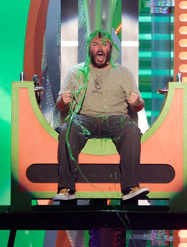 Jack Black -  If there was anyone to make you laugh over slime, it's this guy.