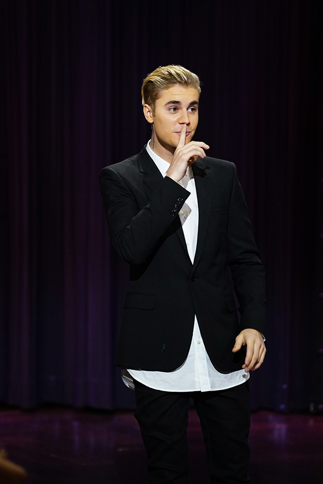Justin Bieber, The Late Late Show with James Corden