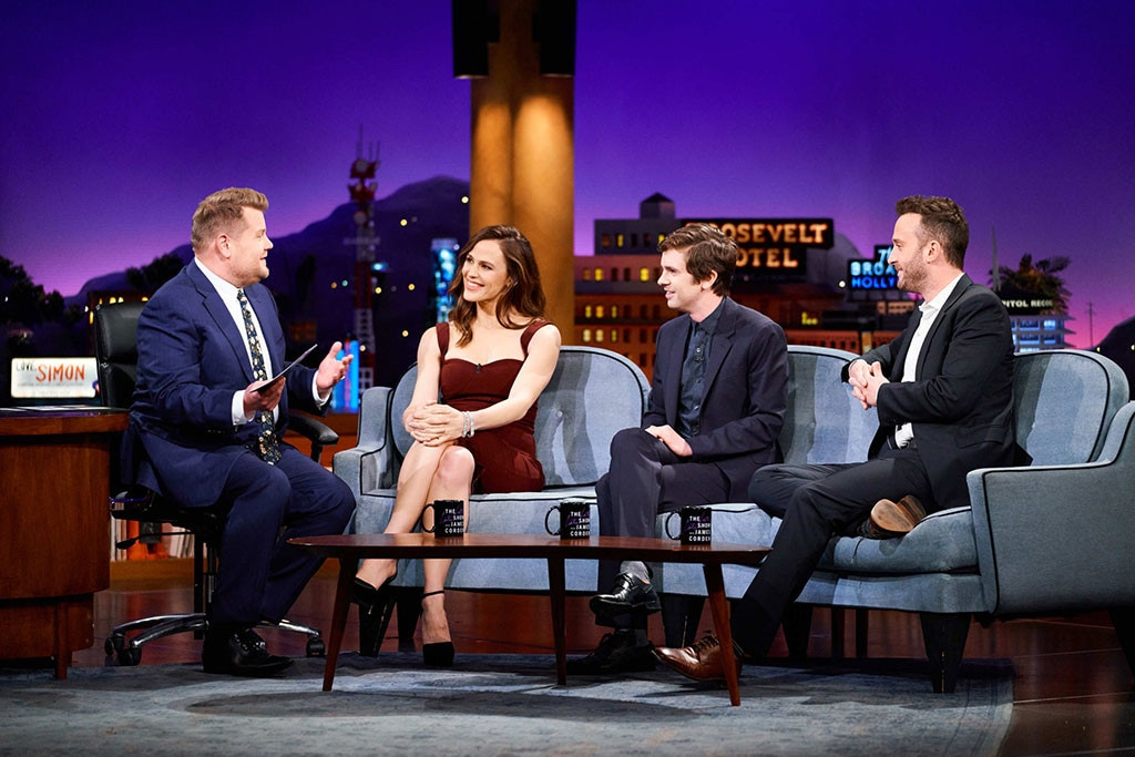 Jennifer Garner, James Corden, The Late Late Show