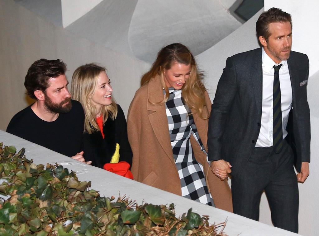 Blake Lively, Ryan Reynolds, Emily Blunt, John Krasinski