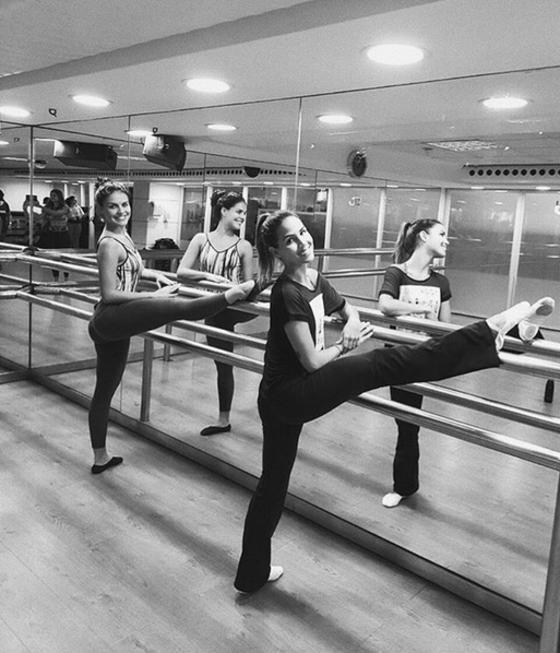 Pérola Faria, ballet