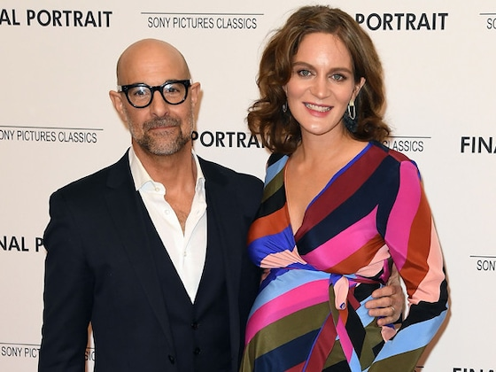 Stanley Tucci and Felicity Blunt Welcome Daughter Emilia