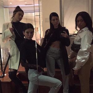 Kylie Jenner, Kendall Jenner, Kourtney Kardashian, Jordyn Woods
