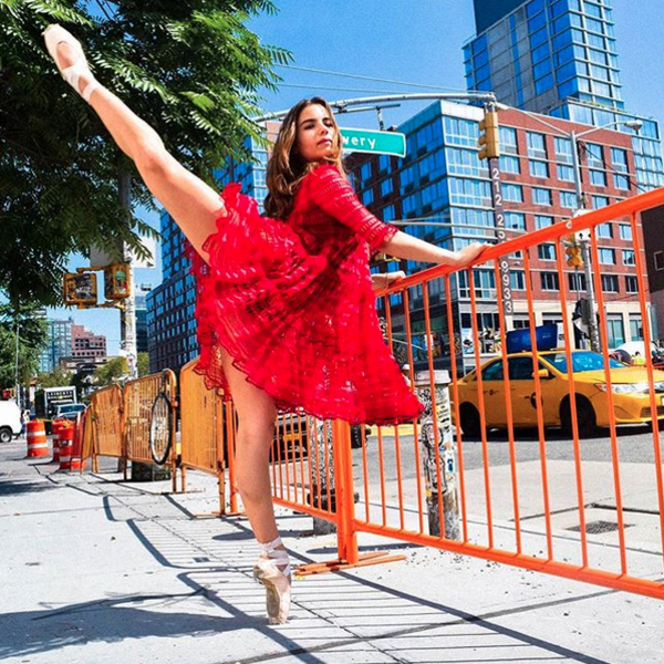 Violetta Komyshan, ballet