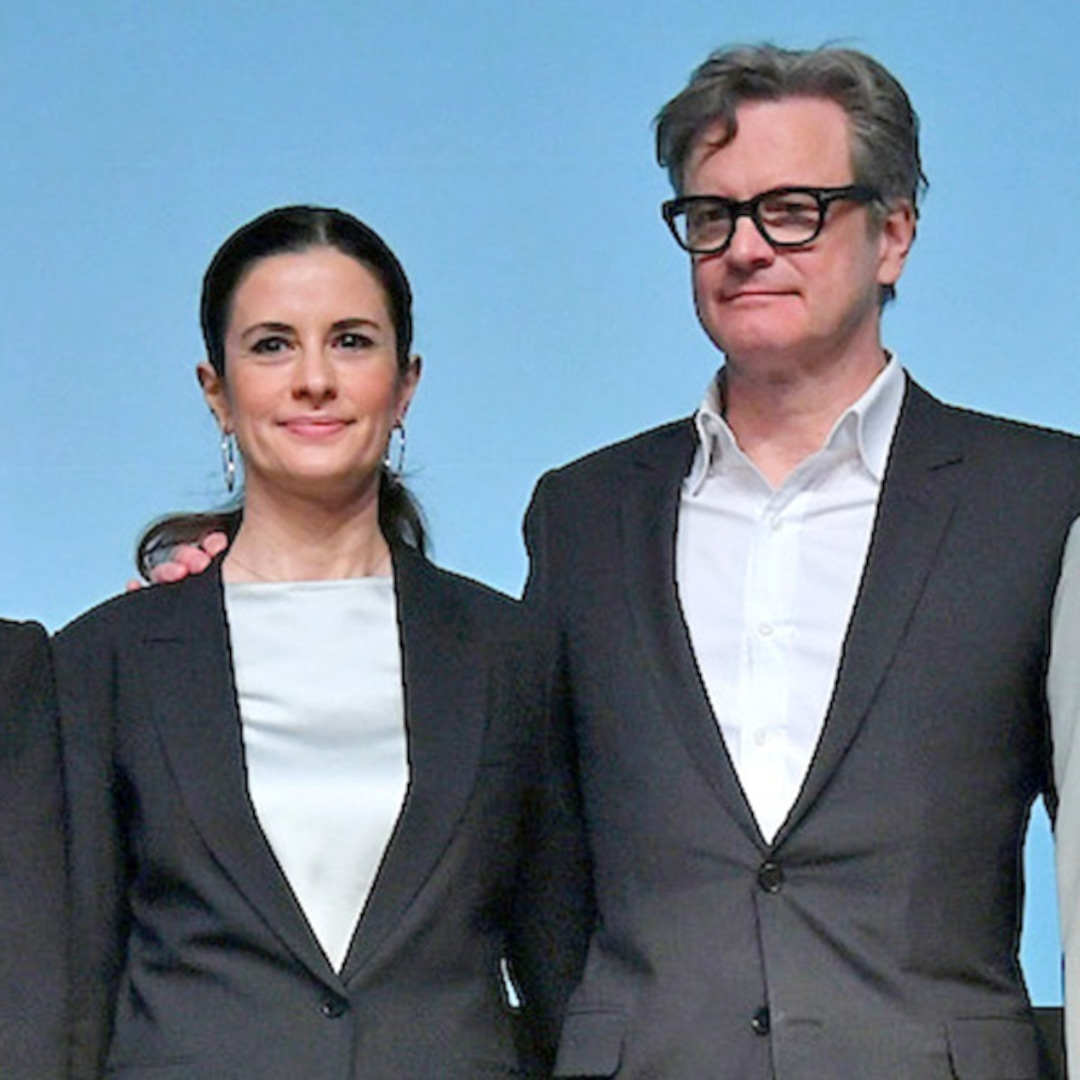 Colin Firth and Wife Make First Public Appearance Since