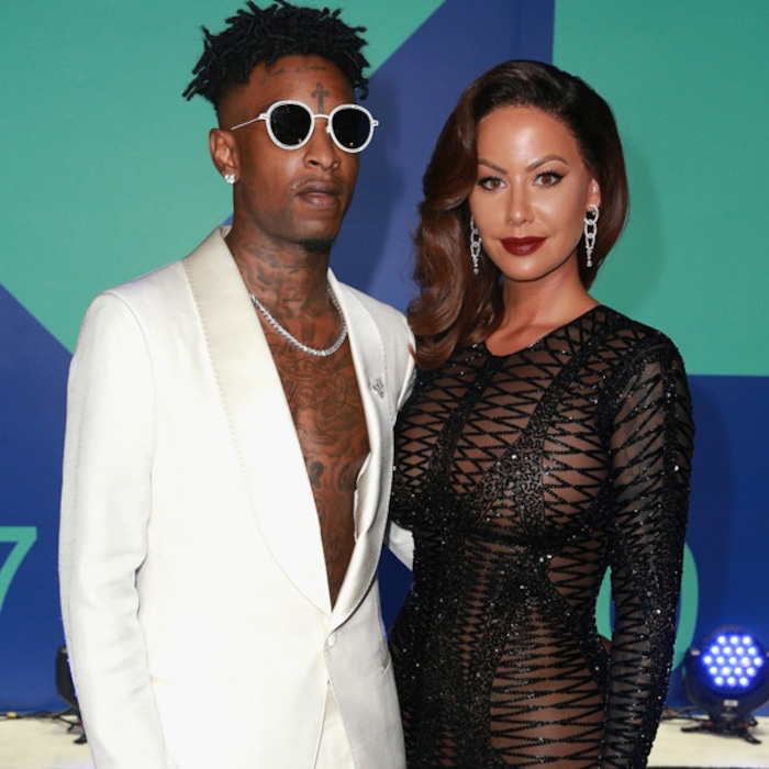 def5f3f1248 Amber Rose Reacts to 21 Savage Split Rumors  I Can t Say That I m Single