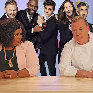 Queer Eye, Fab Five, Nailed It, Nicole and Jacques