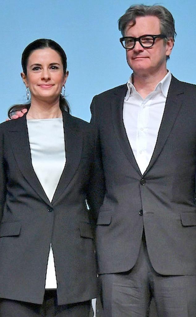 Livia Firth, Colin Firth