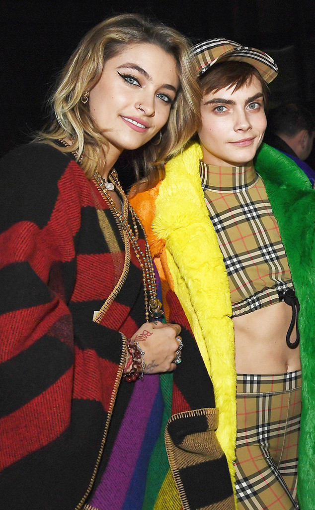 Paris Jackson and Cara Delevingne Kiss While Out With Macaulay
