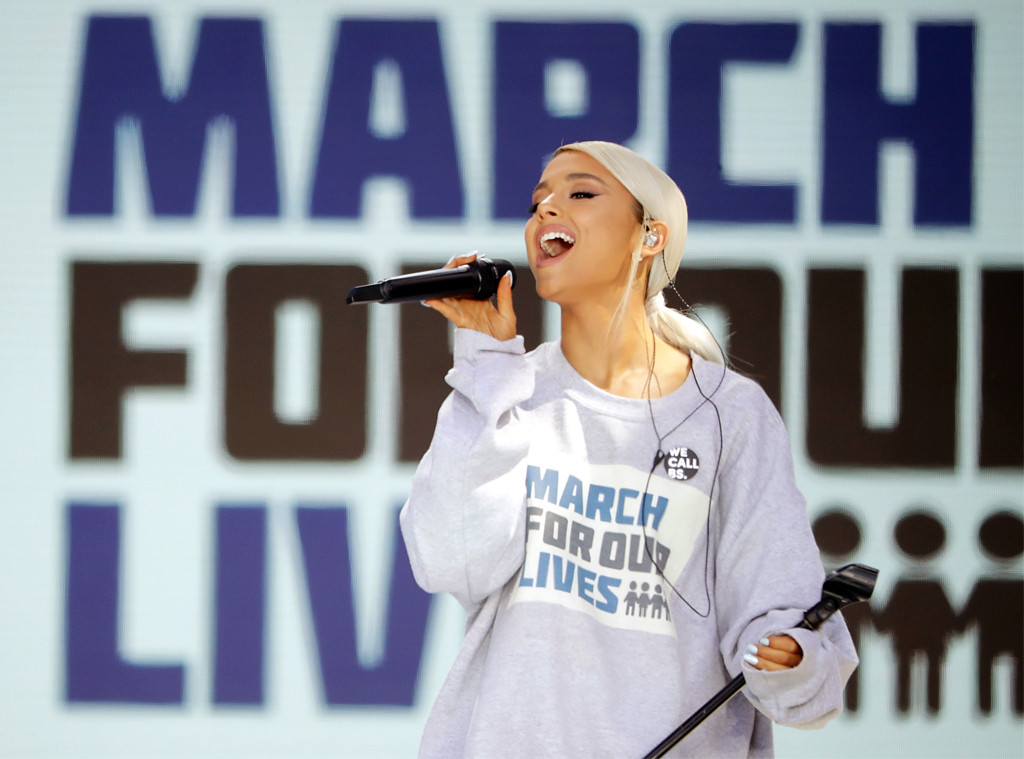 Ariana Grande, March For Our Lives 2018