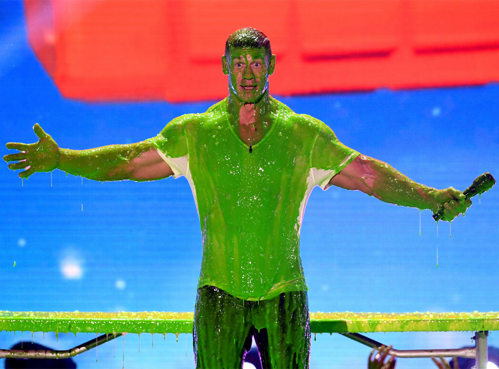 John Cena, Nickelodeon Kids' Choice Awards 2018, Slimed