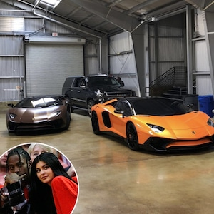 Kylie Jenner, Travis Scott, Car