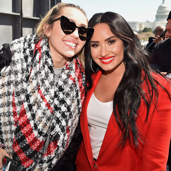 Miley Cyrus, Demi Lovato, March For Our Lives 2018