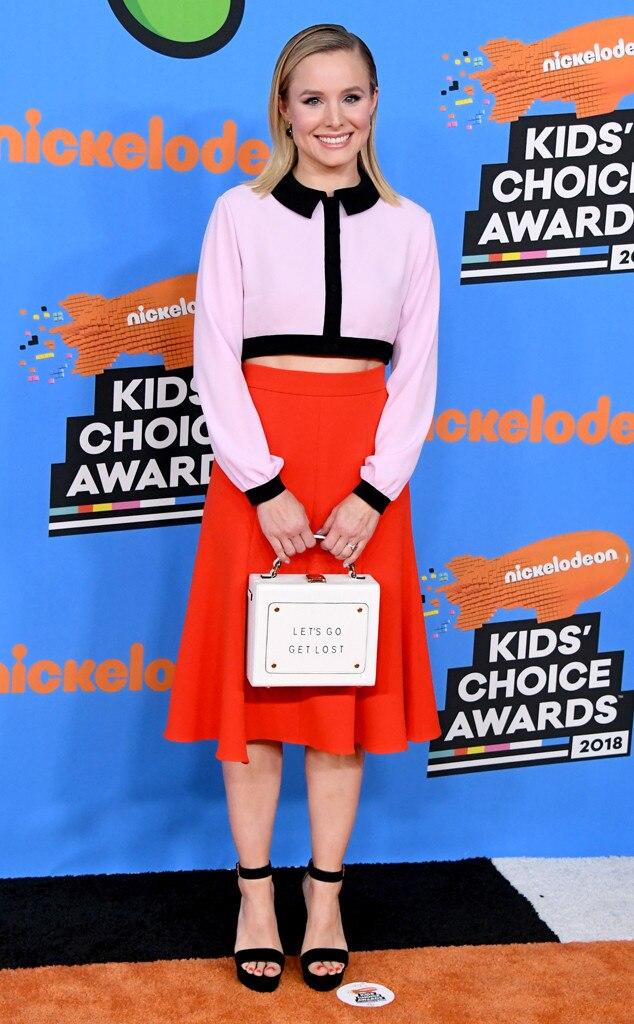 Kristen Bell, Nickelodeon Kids Choice Awards 2018
