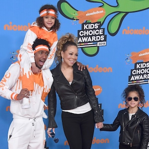 Moroccan Scott Cannon, Nick Cannon, Mariah Carey, Monroe Cannon, Nickelodeon Kids' Choice Awards 2018