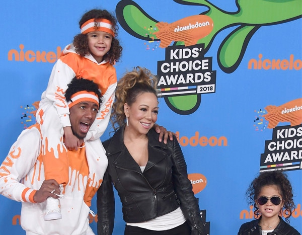 Mariah Carey and Nick Cannon Were Twinning With Their Twins at Kids ...