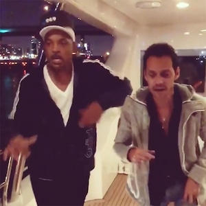 Will Smith, Marc Anthony, Salsa Dancing, Instagram
