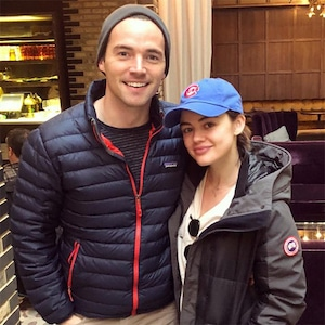 Lucy Hale, Ian Harding, Pretty Little Liars, Reunion