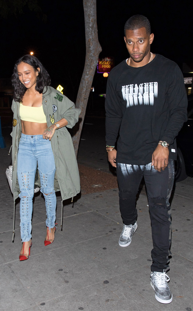 Chris Brown Says Karrueche Tran and New Boyfriend Victor Cruz ''Look