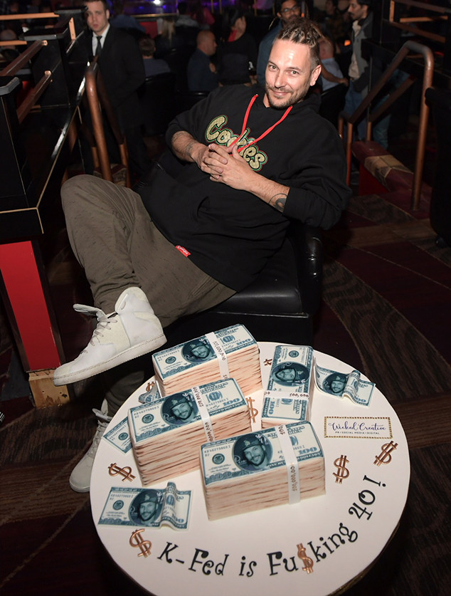 Kevin Federline, Strip Club, 40th, Birthday, Performers