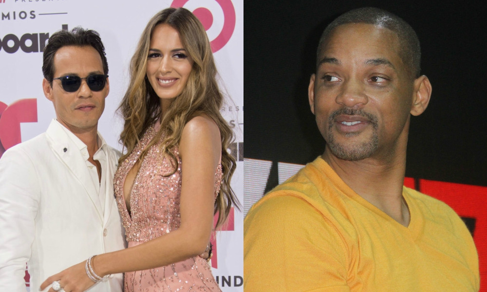 Marc Anthony, Shannon de Lima, Will Smith