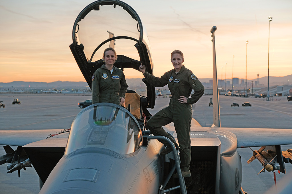 Brie Larson, Jeannie Leavitt, Captain Marvel