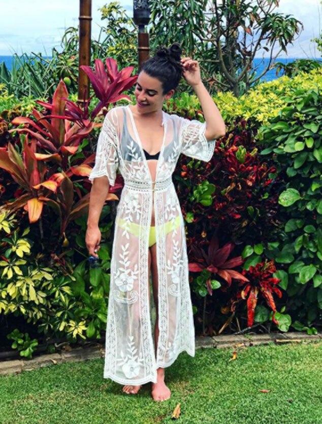 Lea Michele, Spring Break