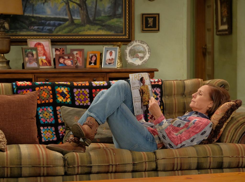 Laurie Metcalf, Roseanne