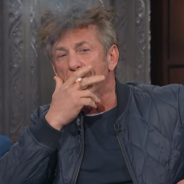 Sean Penn, The Late Show