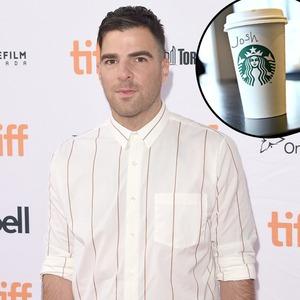 Zachary Quinto, Starbucks, Josh