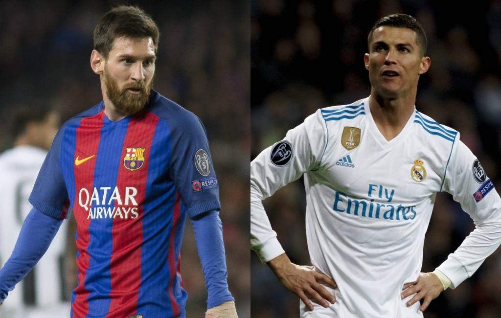 Messi, Cristiano Ronaldo
