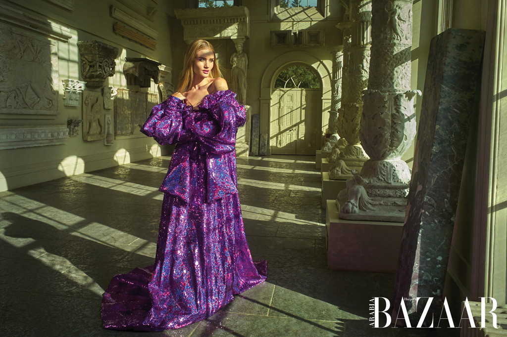 Rosie Huntington-Whiteley, Harper's Bazaar Arabia